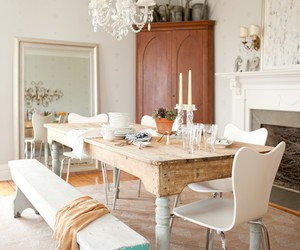 chandelier, chic, and fireplace image