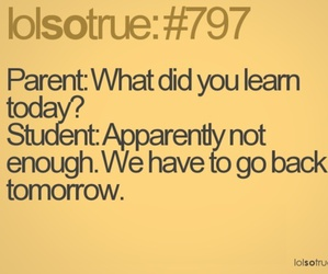 funny, school, and quotes image
