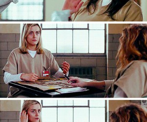 orange is the new black, vauseman, and oitnb image