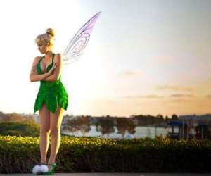 blonde, fairy, and green image