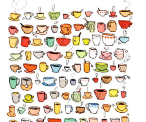 cup, coffee, and tea image
