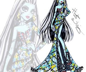 hayden williams, monster high, and frankie stein image
