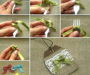 bow, wonderful diy, and crafts image