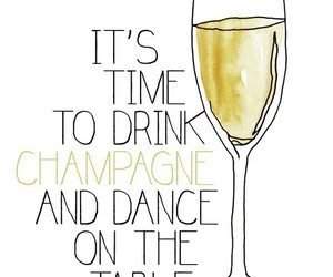 champagne and quotes image