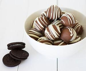 food, chocolate, and cheesecake image