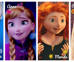 anna, disney, and rapunzel image