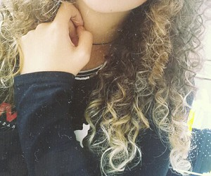 blonde, curly, and me image