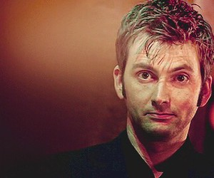 doctor who, david tennant, and smile image