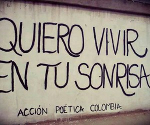 smile and accion poetica image