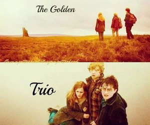 harry potter, hermione granger, and j.k. rowling image
