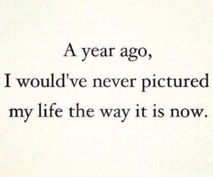 life, quote, and year image