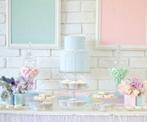 colours, cool, and pastel image