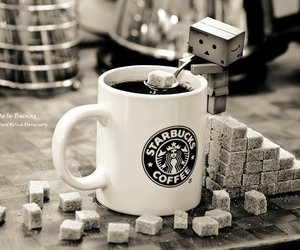 starbucks, coffee, and sugar image