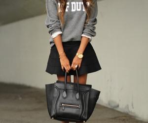 beautiful, style, and black image