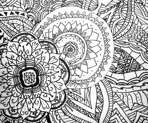 doodle and flowers image