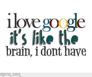 google, brain, and quote image