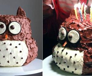 DIY Owl Cake Recipe | UsefulDIY.com