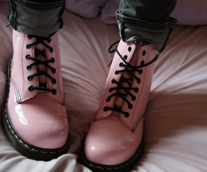 boots, pink boots, and fashion image