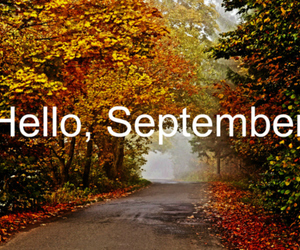 autumn, note, and September image