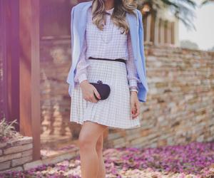blazer, street fashion, and street style image