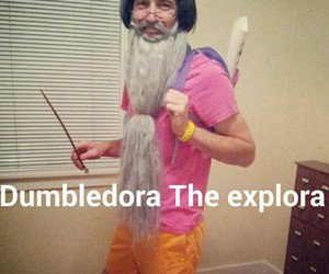 Dora, funny, and harry potter image