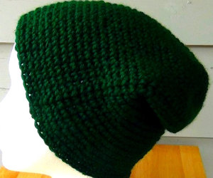 green, handmade, and slouch image