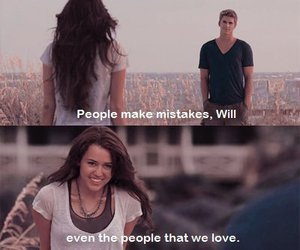 love, the last song, and miley cyrus image