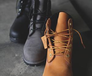 timberland, boots, and fashion image