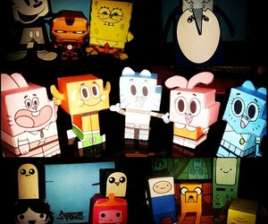 amazing, gumball, and paper toy image