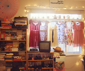 room and dresses image
