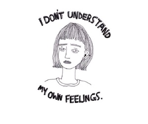 feelings, sad, and quote image