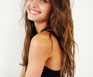 girl, model, and smile image