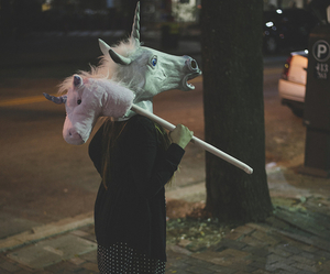 unicorn and grunge image