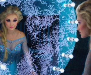 elsa, frozen, and cosplay image
