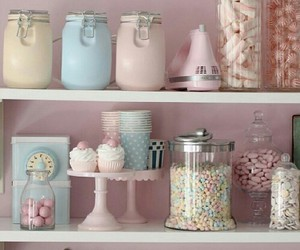 pink, pastel, and sweet image