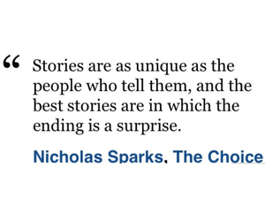 nicholas sparks, quote, and the choice movie image