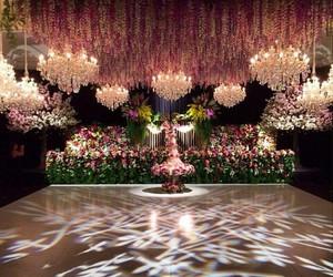 dance, floor, and flowers image