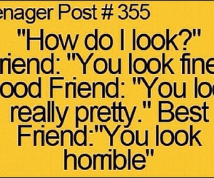 teenager post, best friend, and friends image