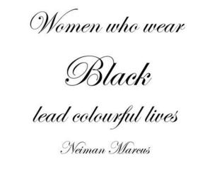 black, quote, and woman image