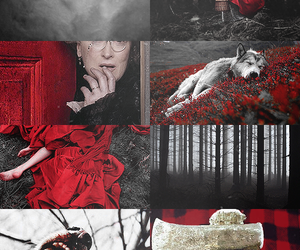 little red riding hood, red, and red riding hood image