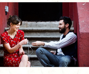 begin again, adam levine, and keira knightley image