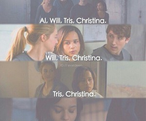 divergent, christina, and will image