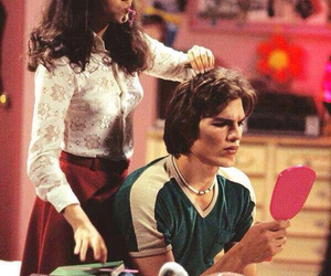 that 70s show, ashton kutcher, and Mila Kunis image