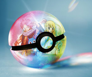 pokeball, x, and fairy tail image