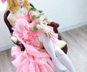 anime, vocaloid cosplay, and kagamine rin cosplay image