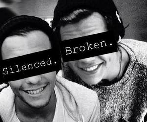 broken, larry, and larry stylinson image