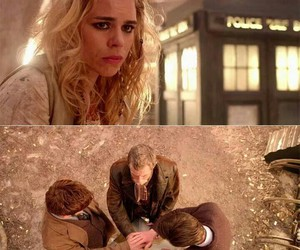 bad wolf, doctor who, and rose image