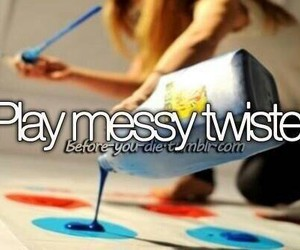 play messy twister image
