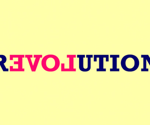 revolution, typography, and add a tag image