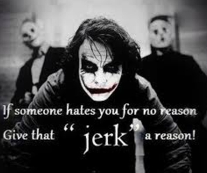 joker, jerk, and quotes image